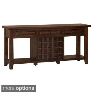 Tuscan Retreat Sideboard with 20-bottle Wine Storage