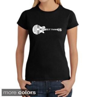 LA Pop Art Women's 'Whole Lotta Love' T-shirt