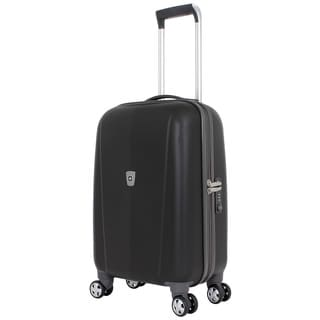 SwissGear Black 20-inch Hardside Carry-on Spinner Upright Suitcase
