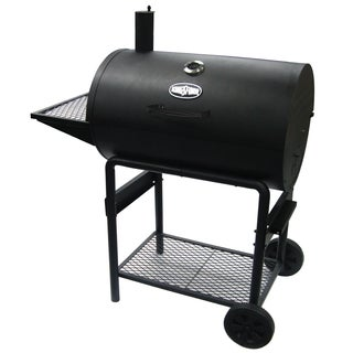 Kingsford Iron and Chrome 30-inch Charcoal Barrel Grill