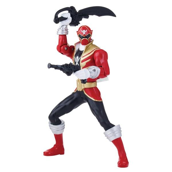 Bandai Power Rangers Double Battle Action Red Ranger 14344506