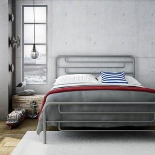 Amisco Pier Queen Size Metal Bed