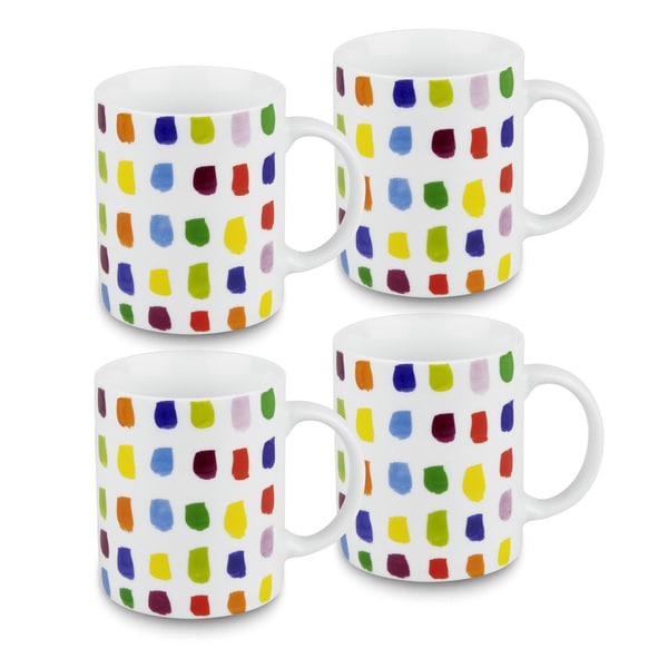 Konitz Splash of Color Mugs (Set of 4) 14344553