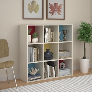 Altra Wink 9-cube Color Block Storage Bookcase
