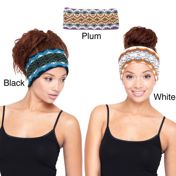 Knitted Winter Warm Snowboarding Headband (Nepal)