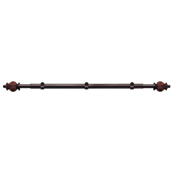 Marlow Ultimate Curtain Rod and Finial Set