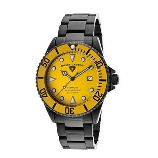 Swiss Legend Men's SL-21344-BB-77-YB Luminous Yellow Watch