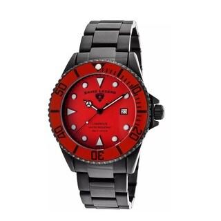 Swiss Legend Men's SL-21344-BB-55-RDB Luminous Red Watch