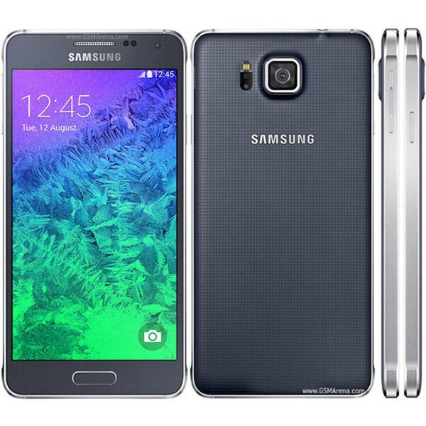 Samsung Galaxy Alpha SM-G850M 32GB Unlocked GSM Android OS, v4.4.4 KitKat Smartphone