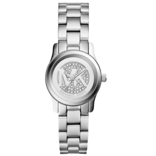 Michael Kors Women's MK3303 Petite Runway Silver Tone Watch