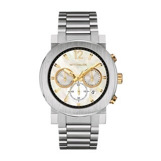 Wittnauer Men's WN3053 Stainless Steel Chronograph Watch