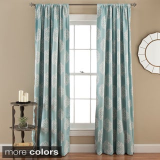 Lush Decor Sophie Blackout Curtain Panel Pair