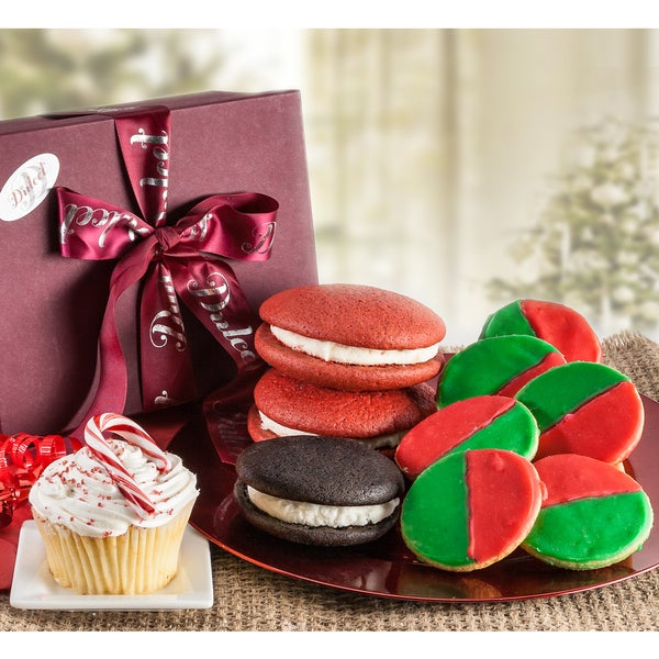 Dulcet's Christmas Gourmet Holiday Favorite Gift Basket