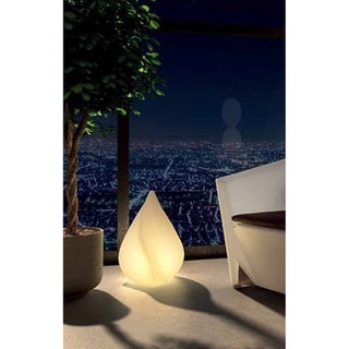 Illuminated Wireless Cone Floor Lamp