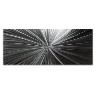 Nicholas Yust 'Tantalum Composition' Modern Metal Wall Art Print