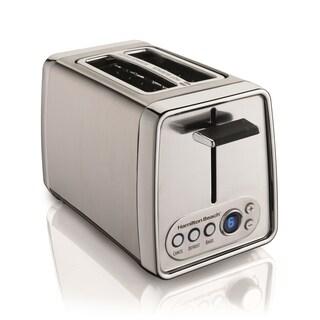 Hamilton Beach 22792 Modern Chrome 2-slice Toaster with Digital Display