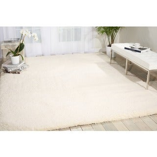 Nourison Galway Ivory Shag Area Rug (5' x 7')