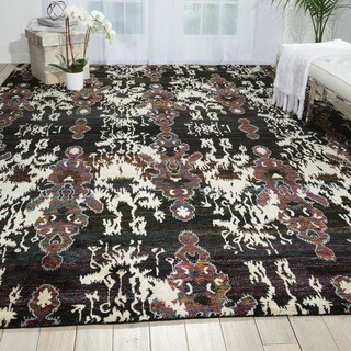 Nourison Sari Silk Multicolor Traditional Rug (8'6 x 11'6)