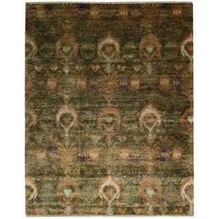 Nourison Recylced Sari Silk Multicolor Rug (9'9 x 13'9)