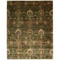 review detail Nourison Recylced Sari Silk Multicolor Rug (9'9 x 13'9)