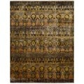review detail Nourison Sari Silk Traditional Multicolor Rug (9'9 x 13'9)