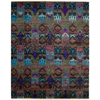 Nourison Sari Silk Multicolor Rug (9'9 x 13'9)