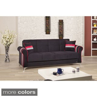 Metro Life Convertible Futon Sofabed with Storage