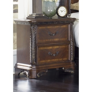 Liberty Rich Cognac 2-Drawer Nightstand