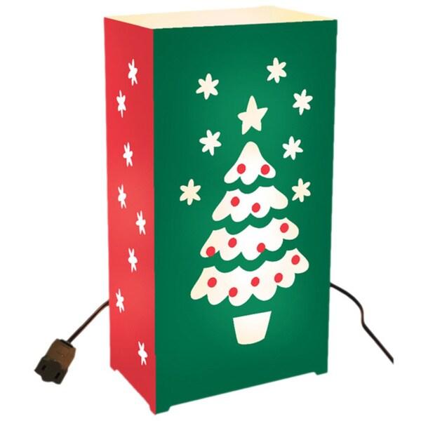 Christmas Tree Electric Luminaria Light Kit (Set of 10)
