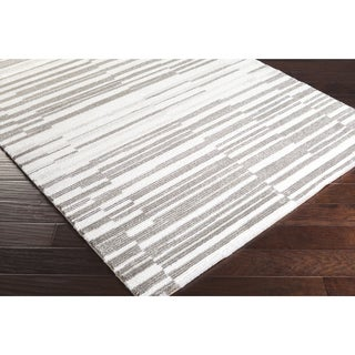 Belgian Made Katie Stripes Area Rug -(9' x 12')