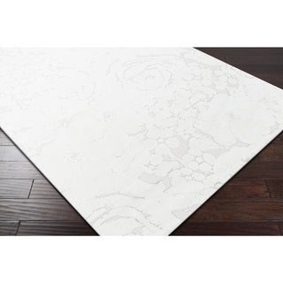 Artfully Crafted Leyna Floral Microfiber Area Rug - (4' x 6')