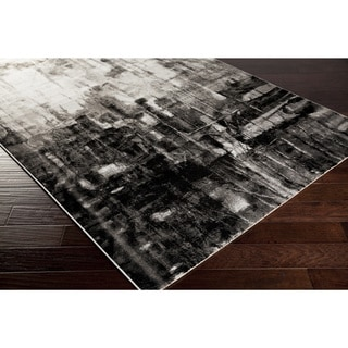 Artfully Crafted Ally Abstract Polypropylene Area Rug -(2'2 x 3')