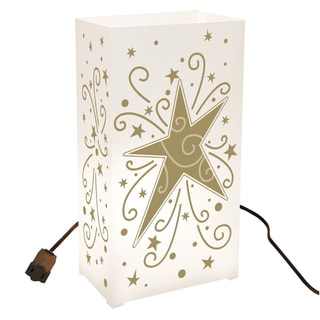 Electric Luminaria Gold Star Light Kit (Set of 10)