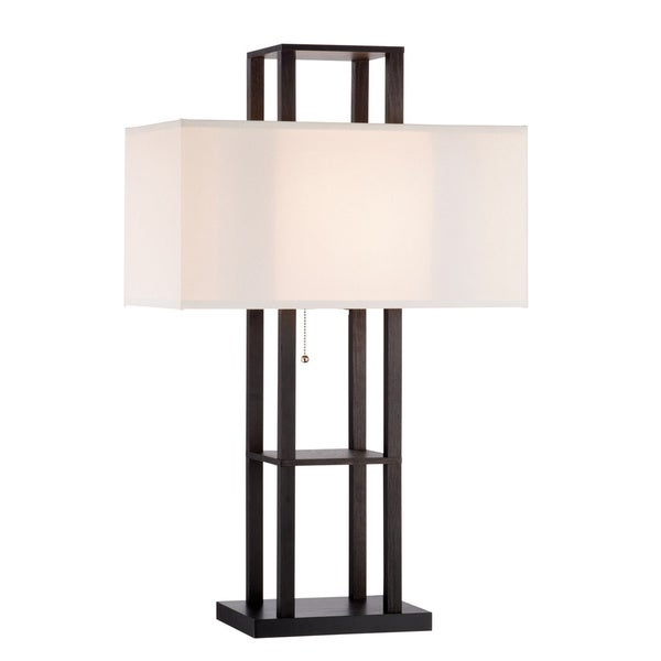 Lloyd Black 1-light Contemporary Table Lamp