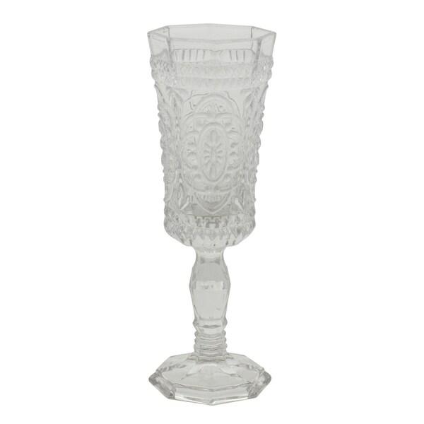Vatican Clear Flute Glass (Set of 6)