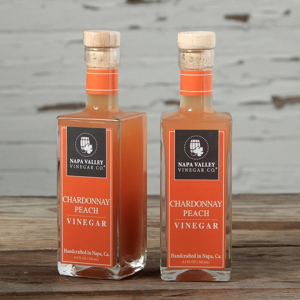 Napa Valley Vinegar Chardonnay Peach Vinegar Set