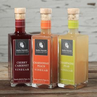 Napa Valley Vinegar Napa Reserve Trio (Set of 3)