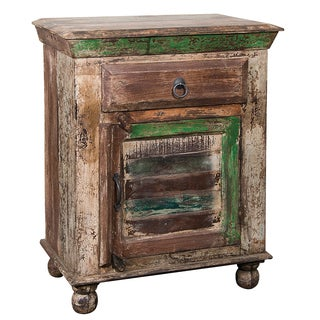 Christopher Knight Home Reclaimed Wood Cabinet