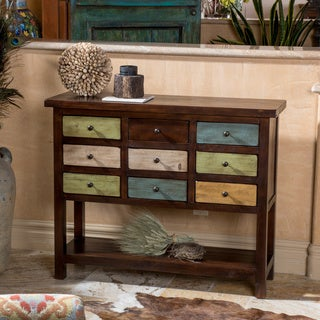 Christopher Knight Home 'Courtland' Mulitcolored Nine-drawer Chest