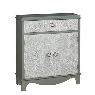 Christopher Knight Home Kathmore Grey and Antique White Cabinet