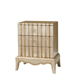 Christopher Knight Home Luminescent Kennan Silver and Gold Wash Chest