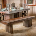 Christopher Knight Home Sheesham Highlight Wash Wooden Bench