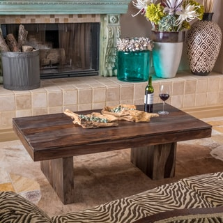 Christopher Knight Home Sheesham Highlight Wash Cocktail Table