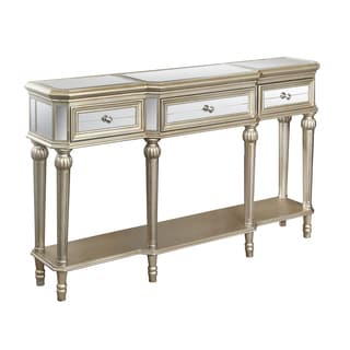 Christopher Knight Home Ellerson Parchment 3-drawer Console Table