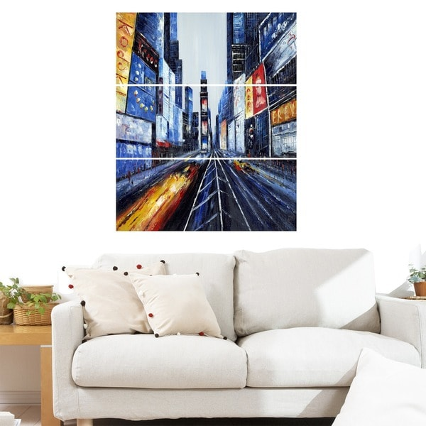 New York, New York- Giclee Print on Canvas- 28X36