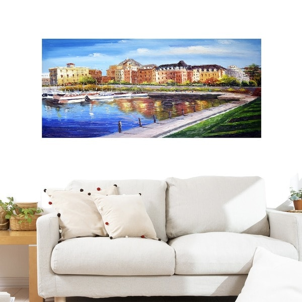 Victoria Cityscape - Wall Art Canvas