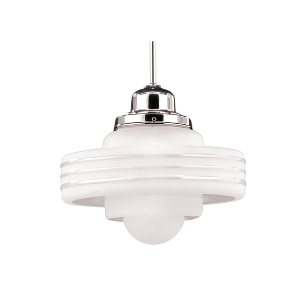 Hudson Valley Diner 1 Light 15 inch Pendant