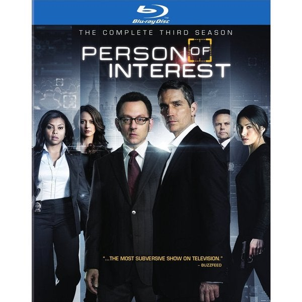 Person Of Interest: The Complete Third Season (Blu-ray/DVD) 14350313