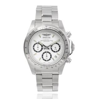 Invicta Men's 7025 Signature 'Speedway' Stainless Steel Link Watch
