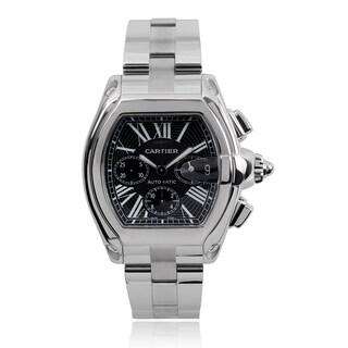 Cartier Men's W62020X6 'Roadster' Automatic Chronograph Watch